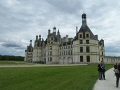 Chateau de Chambord in Loire Valley...absolutely HUGE and breathtaking to see