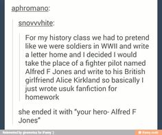 I did something similar except i cosplayed while giving my american history report...