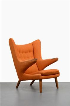 Hans J Wegner (1914-2007). Lounge chiar, model AP-19, Pappa Bear Chair