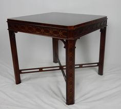 """Gorgeous Modern Chinese Chippendale Style Side Table 26"""" #Chippendale"""
