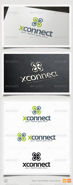X Connect Logo #logotype #marketing  • Download here → https://graphicriver.net/item/x-connect-logo/5412464?ref=pxcr
