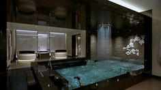 The Enclave in at Lotus Spa.