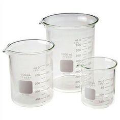 Corning 4 Liter Glass Beaker, Low Form Graduated PYREX Griffin