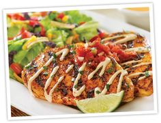 copycat: Red Robin Chicken Ensanada from Adorned From Above: Mexican Rub Recipe