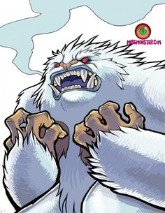 Abominable Snowman by  Miss Monster