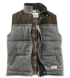 Harris Tweed Herringbone Vest #outdoorsman #men #tees #fashion