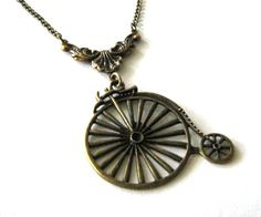 This bicycle necklace would also be welcome into my wardrobe ;)
