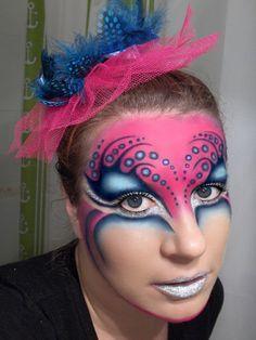 circque du soleil makeup | Via The Portrait Photography Group