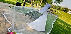 Custom designed veils and accessories by Antonietta Cervantes for Veiled By ChaCha. www.veiledbychacha.net