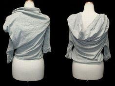 Y's(yohji yamamoto) 立体カシュクールカットソー(three-dimensional shirt)ワイズ ヨウジヤマモト