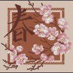 "Cross-stitch pattern ""Sakura"" | Cross-Stitch Club"