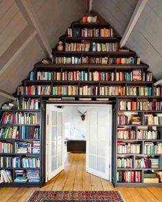 Znalezione obrazy dla zapytania domowa biblioteka