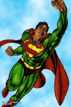 green Super Man