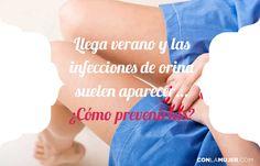 Las infecciones de orina son molestas y dolorosas, y se estima que al menos el 50% de las mujeres padece una en algún momento de su vida. #conlamujer