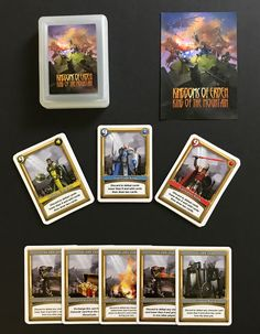 Choose your faction and pledge for a copy of the game on kickstarter. http://kck.st/2rb2TQM Click below to enter the drawing for a free copy. https://gleam.io/fb/hBLVI  #king #queen #knight #fantasy #medieval #castle #bonfire #golem #treasure #weapons #sword #shield #assassin #blacksmith #infantry #archery #guard #captain #priest #rangers #general #paladin #emperor #empress