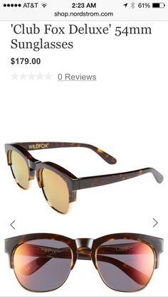 19de66660df Club fox deluxe Wildfox sunglasses