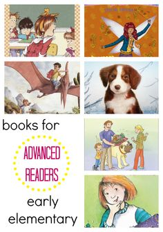 Find appropriate books for your young advanced reader with help from our #RaiseaReader blog. #reading