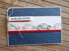 Coming Home Bundle used for September Classes - Crafty-rootes Birthday Cards For Men, Man Birthday, Your Cards, Men's Cards, Car Card, Christmas Card Crafts, Coming Home, Masculine Cards, Stamping Up