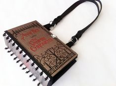 handmade book purse - anne rice - the vampire chronicles   $65 - click on the photo for a direct link - http://goreydetails.net/shop/index.php?main_page=product_info=37_144_id=1581