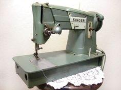 Vintage 1960's Singer Spartan Sewing Machine  by WhyHelloCupcake, $84.99