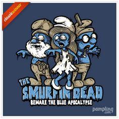 """""""The Smurfin Dead"""" de Letter-Q"""