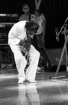Miles Davis @ Montreux, 14.7.1985. Ilford HP5 (c) Christophe Losberger