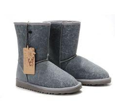 UGG Classic Short Paisley Boots Grey 5831
