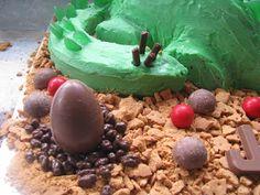 whimsy: birthday cakes 2 Birthday Cake, Dinosaur Cake, Gabriel, Pudding, Cakes, Desserts, Food, Kids Part, Fiestas