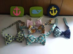 Colorful Bow Ties by Phi Ties