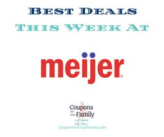 Meijer Ad and Meijer Coupons Dec 4-10:  FREE Sesmark Crackers, $0.60 Campbells Soup & more - http://www.couponsforyourfamily.com/meijer-ad-meijer-coupons/