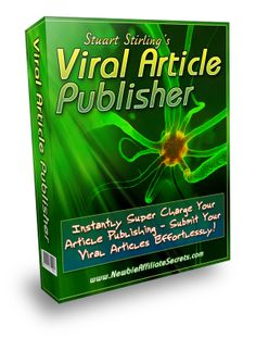 Viral Article Publisher by Stuart Stirling