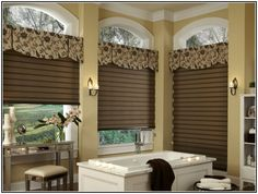 window treatments for bathroom privacy