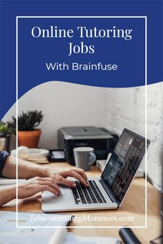 Brainfuse work at home jobs as an online tutor. Cash From Home, Earn Money From Home, Way To Make Money, Home Teaching, Teaching Math, Work From Home Business, Work From Home Moms, Home Tutors, Need A Job