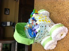 how to make a bassinet out of a basket