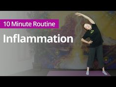 Exercises for INFLAMMATION   10 Minute Daily Routines - YouTube Indoor Workout, Daily Routines, Good Energy, Qigong, Exercises, Health, Youtube, Fitness, Health Care