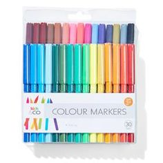 Colour Markers - Pack of 30