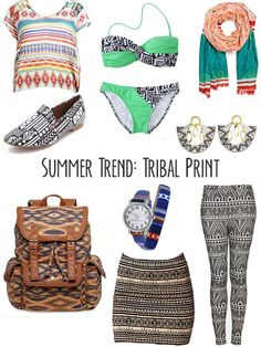 How to wear Tribal Print!