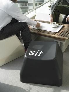Big keyboard stackable chair for indoor and also outdoor.