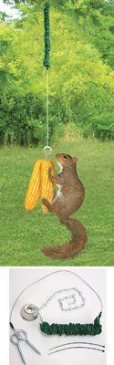 Bungee Jumper Hanging Squirrel Feeder Squirrel Feeder, Collections Etc, Online Gifts, Jumper, Entertainment, Houses, Gardening, Gift Ideas, Unique