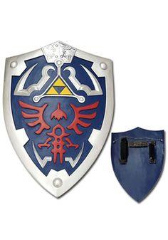 Zelda Triforce Shield #Accessory #Link