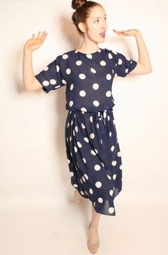 Pretty polka dots from Yo Vintage!