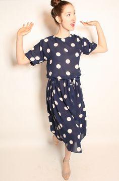 Pretty polka dots from Yo Vintage!