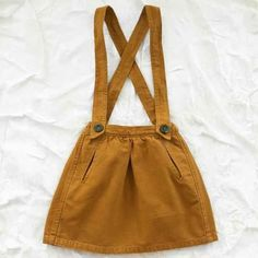 nico nico schoolgirl skirt - mustard