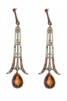 From Paris with Love! - From Paris with Love! - Art Deco Roaring 20s ear pendants oorbellen