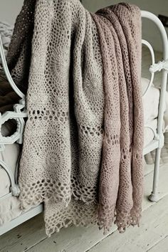 crocheted throws. #crochet, #throws, #home, #comfort