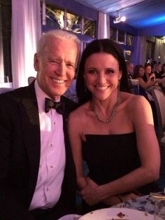 Two VEEPs Collided When Julia Louis-Dreyfus Hung Out With Joe Biden