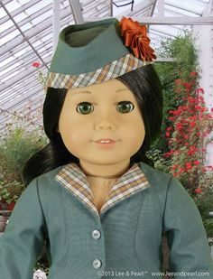 (9) Name: 'Sewing : L&P 2021 - 18' Doll Glengarry Hat