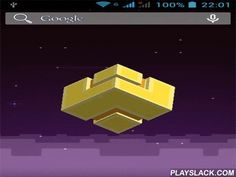 Fez  Android App - playslack.com , Fez - live  wallpaper created  in a computer game Fez style. Eight bit atmosphere at a background changes its color being  on day time, and in the view three-dimensional blockish floats.