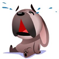 Mugsy Facebook Stickers by Ghostbot. A little French bulldog who makes big trouble Image Facebook, Emoticon Faces, Gallows Humor, Smiley Emoji, Love Stickers, Halloween Trick Or Treat, Cartoon Pics, Ikon, Walt Disney