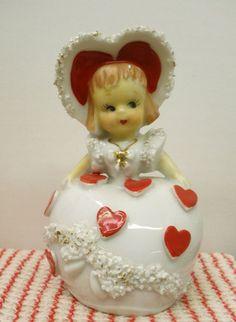 vintage lefton valentine - Google Search